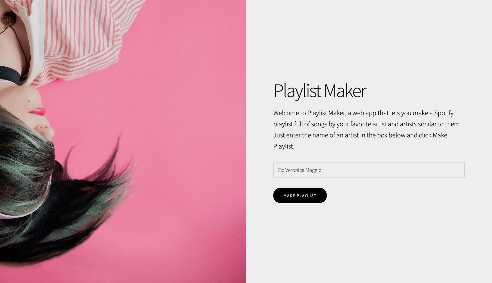 Playlist Maker